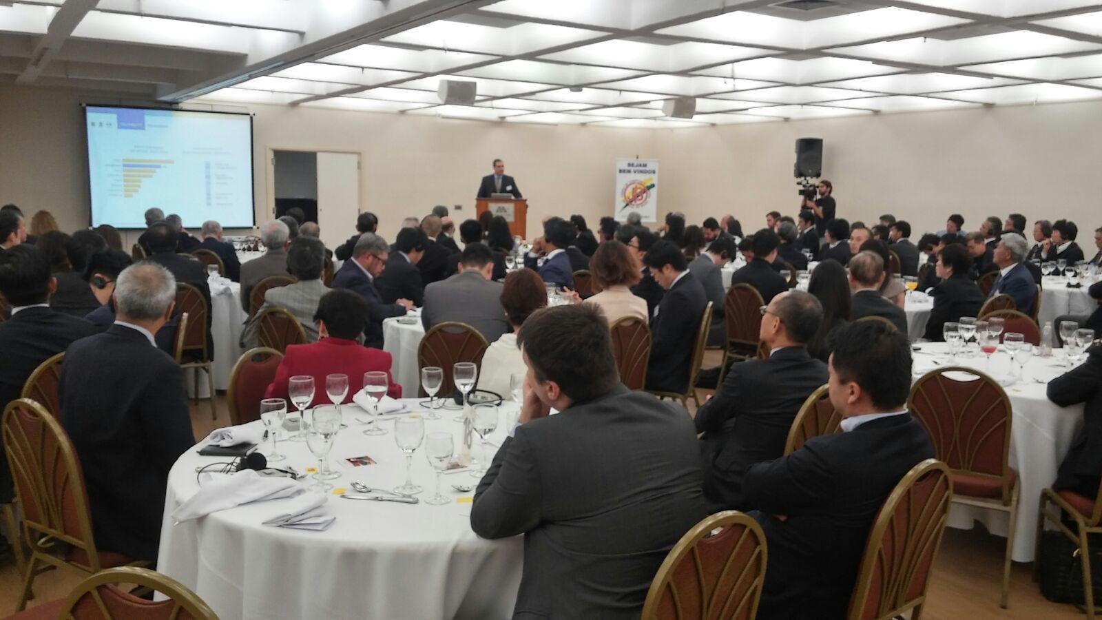 Almuerzo con empresas japonesas en San Pablo 1