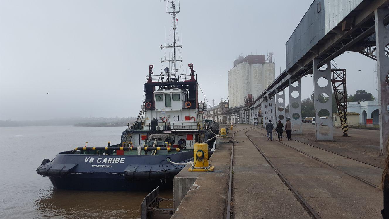 Visita técnica a Puerto de Fray Bentos y a Terminal Logística M´Bopicuá 1