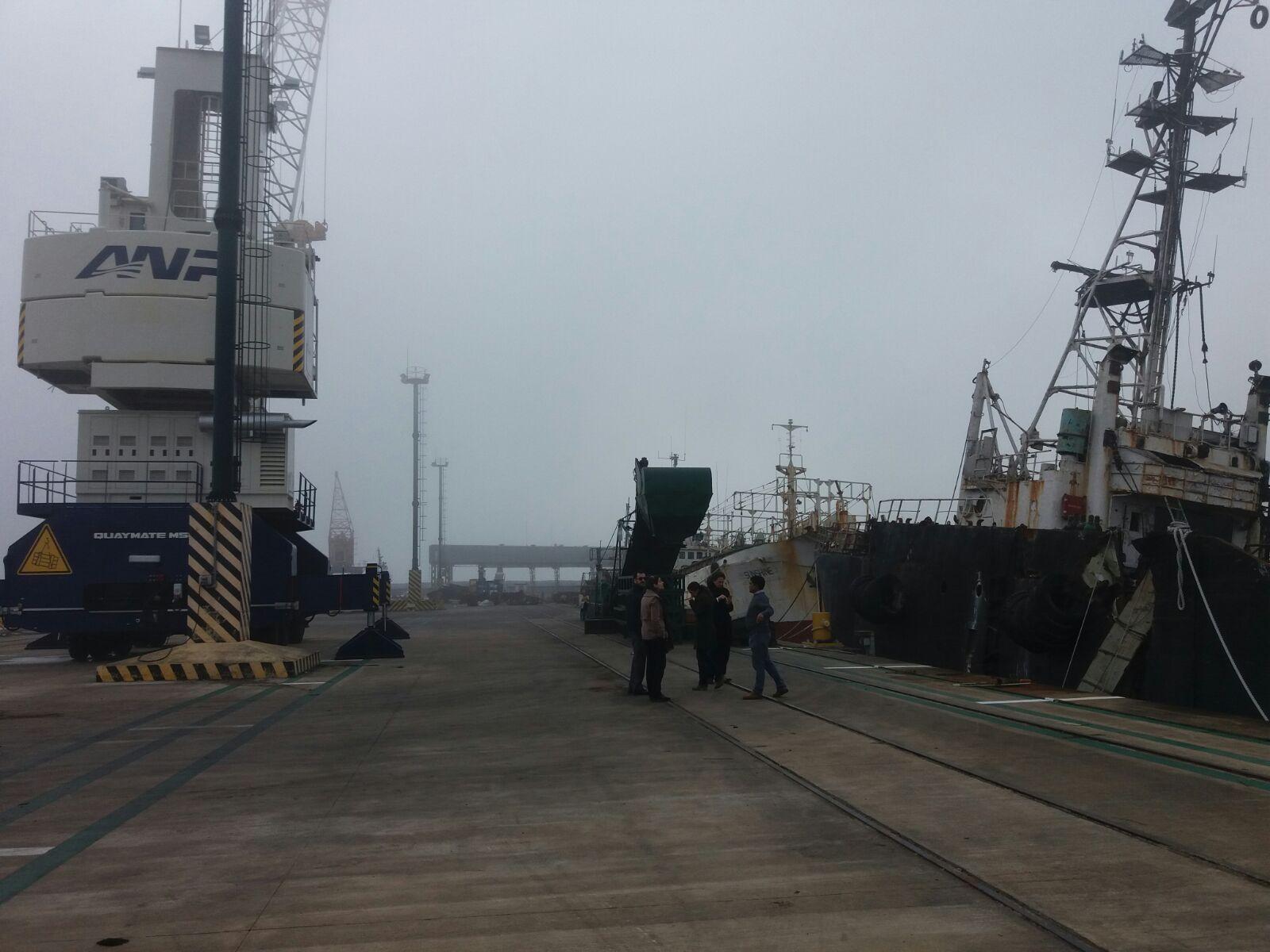 Visita técnica a Puerto de Fray Bentos y a Terminal Logística M´Bopicuá