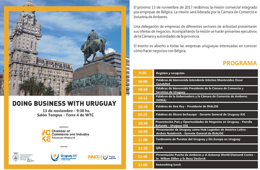 Doing bussiness with Uruguay