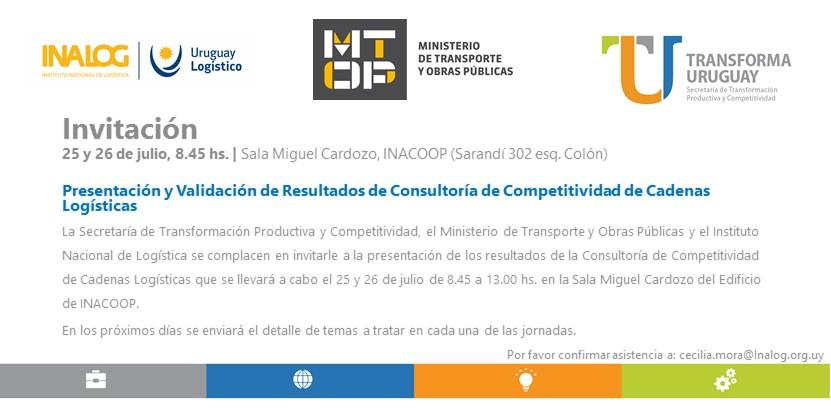 invitación presentación consultoría de competitividad