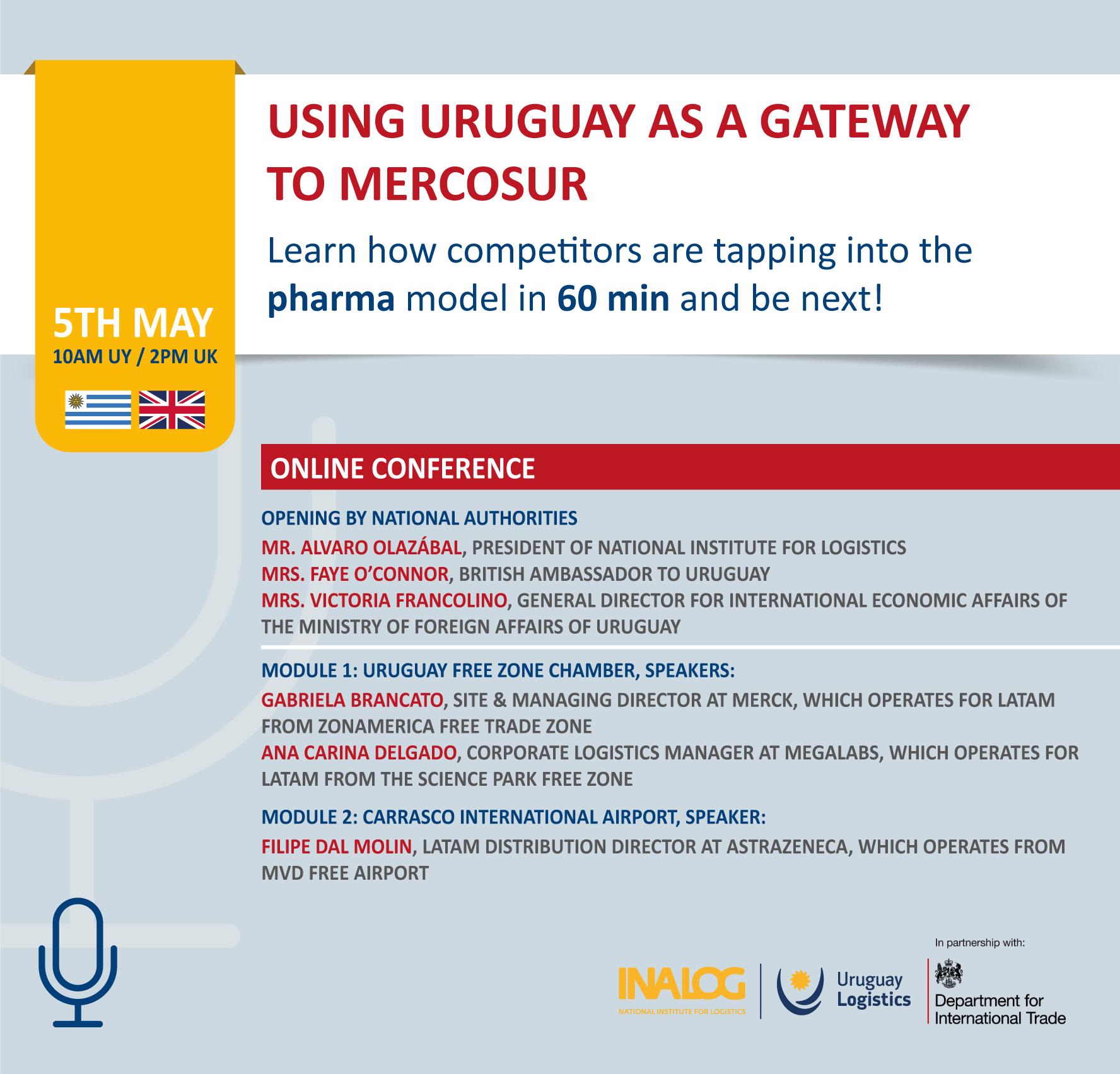 Invitation Using Uruguay as a gateway to Mercosur